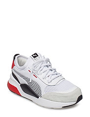 RS-0 Winter Inj Toys PS - PUMA WHITE-HIGH RISK RED
