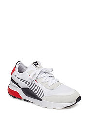 RS-0 Winter INJ TOYS - PUMA WHITE-HIGH RISK RED
