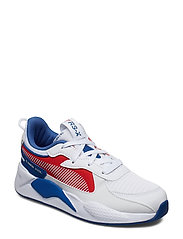 RS-X Hard Drive PS - PUMA WHITE-HIGH RISK RED