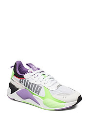 RS-X Bold - PUMA WHITE-GREEN GECKO-ROYAL LILAC