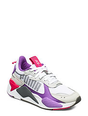 RS-X Bold - PUMA WHITE-HIGH RISE-ROYAL LILAC