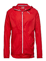 Lightweight Hooded Jacket - HIGH RISK RED