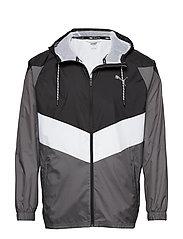 Reactive Wvn jacket - PUMA BLACK-CASTLEROCK-PUMA WHITE