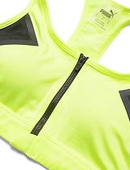 PUMA - High Impact Front Zip Bra - sort bras:high - fizzy yellow - 2