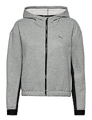Train Favorite Fleece Full Zip Hoodie - MEDIUM GRAY HEATHER
