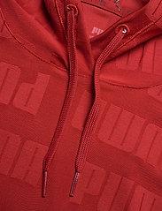 PUMA - Train First Mile Mono Hoodie - hoodies - red dahlia - 2
