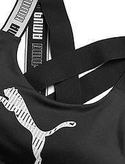PUMA - Mid Impact Feel it Bra - urheiluliivit: medium tuki - puma black - 2