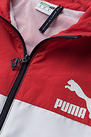 PUMA - Retro Woven Track Jacket - track jackets - peacoat - 1