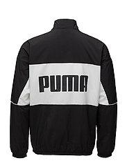 Retro Woven Track Jacket - PUMA BLACK