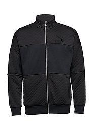 Retro Quilted Jacket - PUMA BLACK
