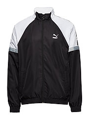 PUMA XTG Woven Jacket - PUMA BLACK-PUMA WHITE