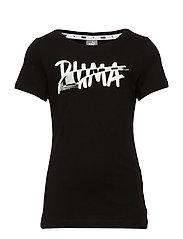 Alpha Logo Tee G - PUMA BLACK