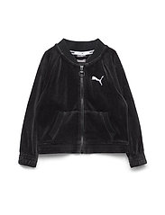 Alpha Velvet Jacket G - PUMA BLACK