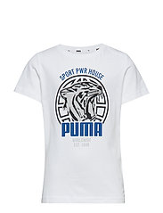 Alpha Graphic Tee B - PUMA WHITE