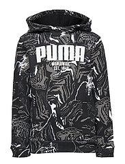 Alpha AOP Hoody FL B - PUMA BLACK