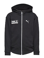 Alpha Graphic Sweat Jacket FL B - PUMA BLACK