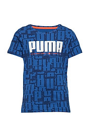 Active Sports Aop Tee B T-shirts Short-sleeved T-shirts Blå PUMA