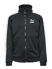 Iconic T7 Track Jacket Poly-Terry B Sweat-shirt Tröja Svart PUMA