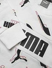PUMA - Alpha AOP Crew TR B - sweatshirts - puma white - 2