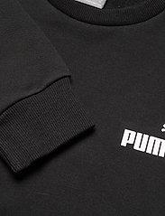 PUMA - ESS Small Logo Crew FL - Överdelar - puma black - 2