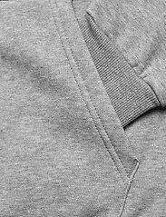 PUMA - ESS Big Logo Hoodie FL - huvtröjor - medium gray heather - 3
