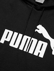 PUMA - ESS Big Logo Hoodie FL - huvtröjor - puma black - 2