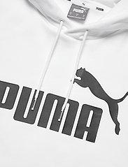PUMA - ESS Big Logo Hoodie FL - huvtröjor - puma white - 2