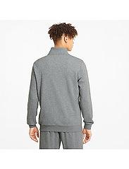 PUMA - ESS Track Jacket TR - Överdelar - medium gray heather - 5
