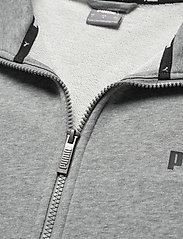 PUMA - ESS Track Jacket TR - Överdelar - medium gray heather - 3