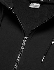 PUMA - ESS Small Logo FZ Hoodie FL - huvtröjor - puma black - 3
