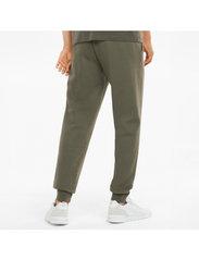 PUMA - ESS Logo Pants FL cl (s) - sweatpants - grape leaf - 3