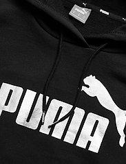 PUMA - ESS+ Cropped Metallic Logo Hoodie TR - hættetrøjer - puma black-silver - 2