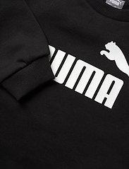 PUMA - ESS Big Logo Crew FL B - sweatshirts - puma black - 2
