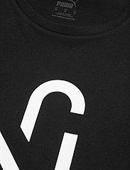 PUMA - NJR 2.0 Logo Tee - topy sportowe - puma black - 2