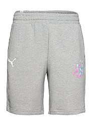 NEYMAR JR CREATIVITY Logo Shorts - MEDIUM GREY HEATHER