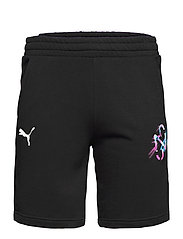 NEYMAR JR CREATIVITY Logo Shorts - PUMA BLACK