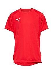 LIGA Training Jersey Jr - PUMA RED-PUMA WHITE