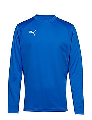LIGA Training Sweat - ELECTRIC BLUE LEMONADE-PUMA WHITE