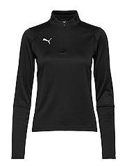LIGA Training 1/4 Zip Top W - PUMA BLACK-PUMA WHITE