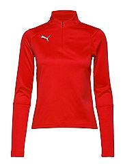 LIGA Training 1/4 Zip Top W - PUMA RED-PUMA WHITE