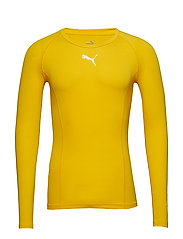 LIGA Baselayer Tee LS - CYBER YELLOW