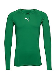 LIGA Baselayer Tee LS - PEPPER GREEN