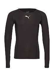 LIGA Baselayer Tee LS - PUMA BLACK