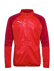 CUP TRG Poly Jacket Core - PUMA RED-CHILI PEPPER