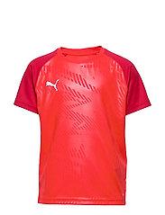 CUP Training Jersey Core Jr - PUMA RED-CHILI PEPPER