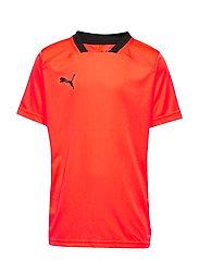 ftblNXT Shirt Jr - NRGY RED-PUMA BLACK