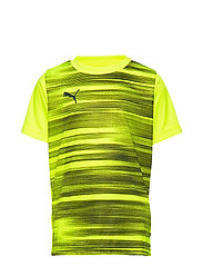 ftblNXT Graphic Shirt Core Jr - YELLOW ALERT-GREY DAWN