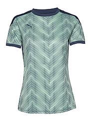 ftblNXT Graphic Shirt W - DARK DENIM-MIST GREEN