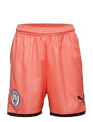 MCFC Shorts Replica Jr - GEORGIA PEACH-PUMA BLACK
