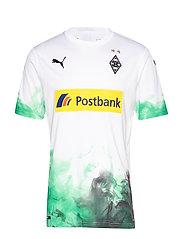 BMG Home Shirt Replica with sponsor - PUMA WHITE-BRIGHT GREEN